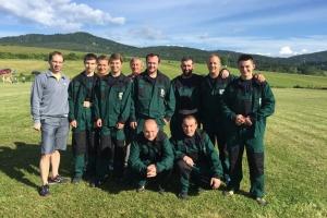 Okresná hasičská súťaž v obci Malé Lednice 2016