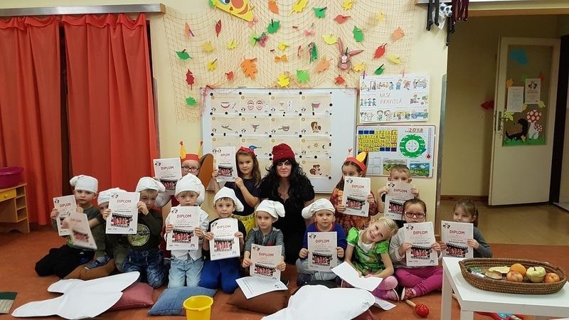 MŠ Prečín Veselé zúbky 2019